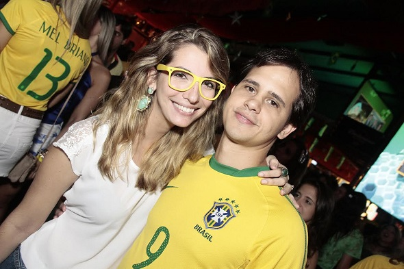 Priscila Leão e Ulysses Pernambucano - Crédito: Gleyson Ramos/Divulgação