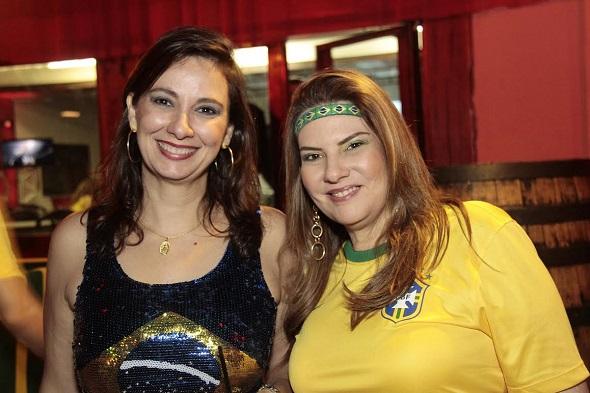 Carmem Didier e Cristina Tavares - Crédito: Gleyson Ramos/Divulgação
