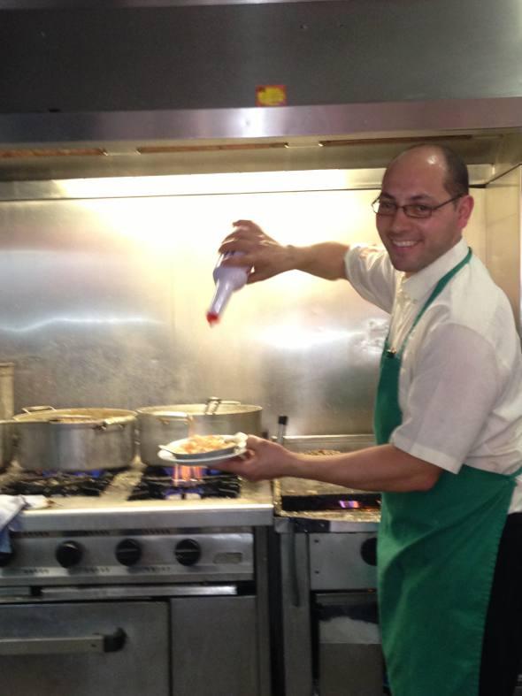 um dos chefs do Ramiro