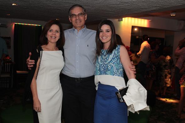 Rosário, Alexandre e Rafaela Dias Crédito: Nando Chiappetta/DP/D.A Press
