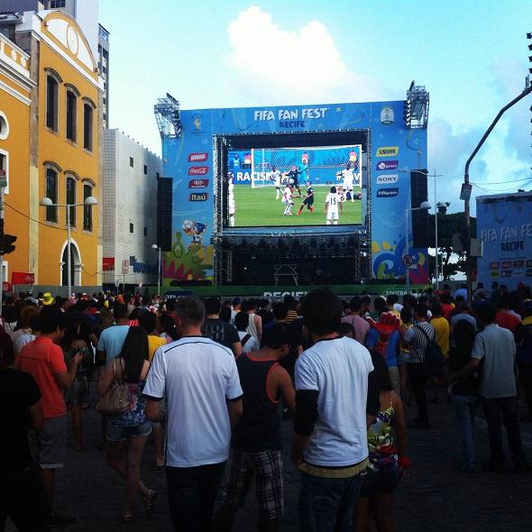 Fifa Fan Fest - Crédito: Carolina Fonseca/Esp. para o DP/D.A. Press