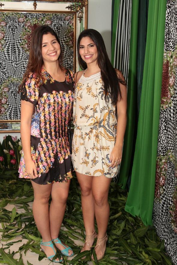 Beatriz Barbosa e Lorena Luna Crédito: Nando Chiappetta/DP/D.A Press