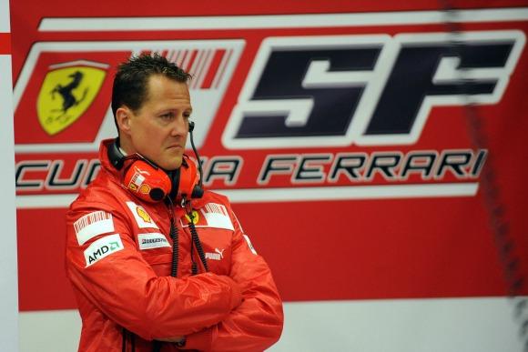 Michael Schumacher Crédito: Ferrari/Divulgação