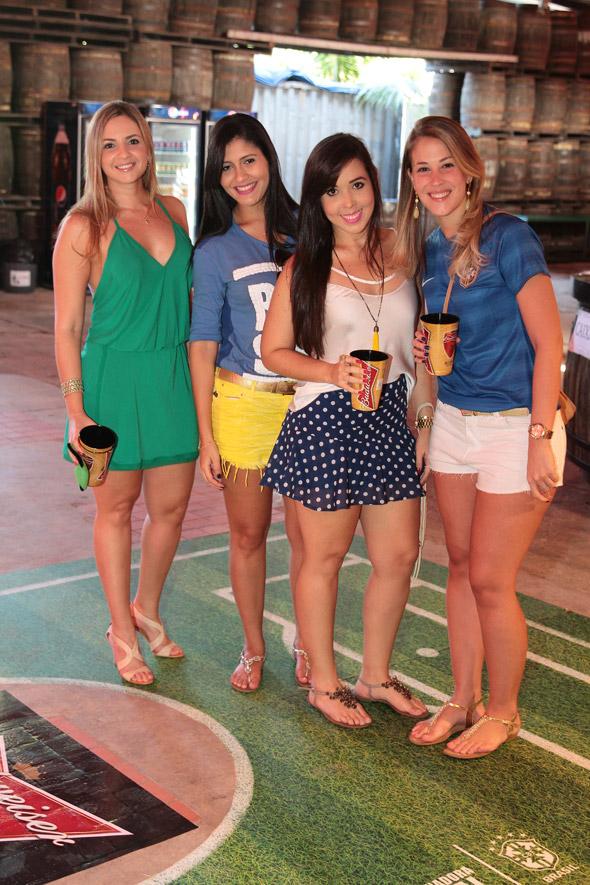 Silvana Nassar,Luciana Gomes,Liliane Brasileiro e Eduarda Rijo - Crédito:Nando Chiappetta/DP/D.A Press
