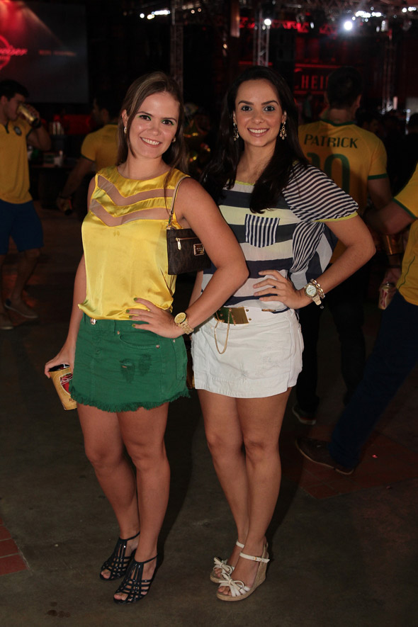 Mirela Calado e Camila Duarte - Crédito:Nando Chiappetta/DP/D.A Press