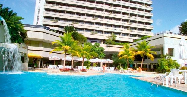 Mar Hotel Crédito: http://www.ponteshoteis.com.br/mar-hotel/