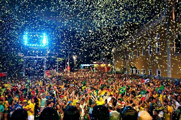 Recife Fifa Fan Fest - Crédito: Laís Telles/Divulgação
