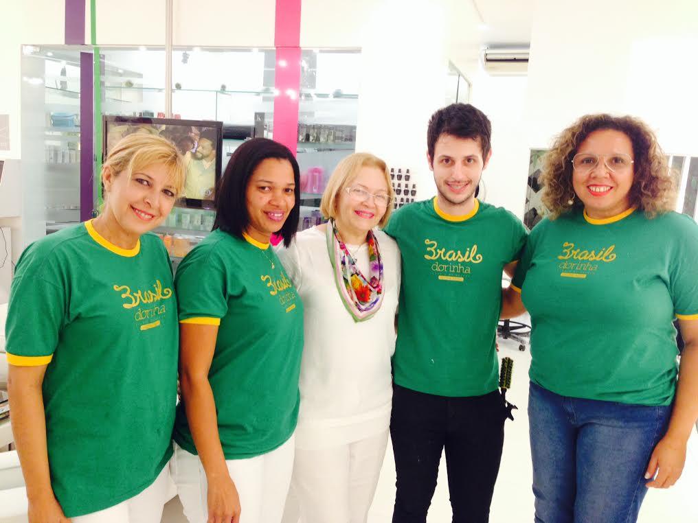 Lóide Rodrigues, Gayse Nunes, Dorinha e Diego Veríssimo Crédito: Cortesia