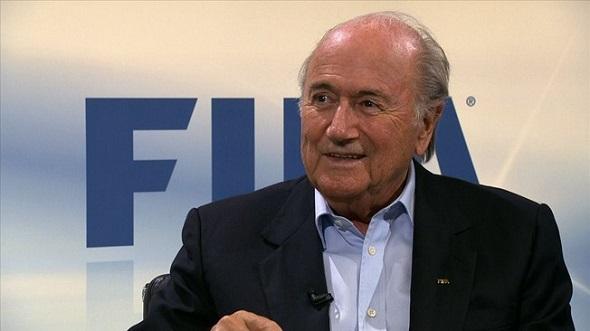 Joseph Blatter - Crédito: Reprodução site oficial da Fifa