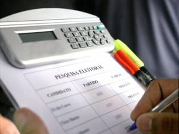 Pesquisa eleitoral/Divulgação