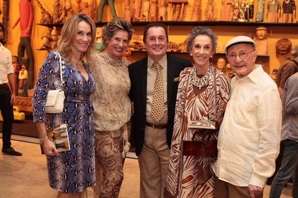 Paula Meira, Marcia Carvalho, Carlos Augusto Lira, Eliane Carvalho e Abelardo da Hora - Crédito: Nando Chiappetta/DP/D.A Press