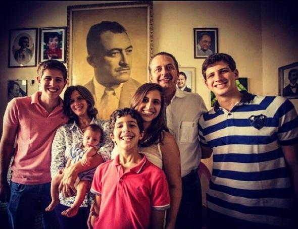 Família Campos - Crédito: Reprodução Instagram