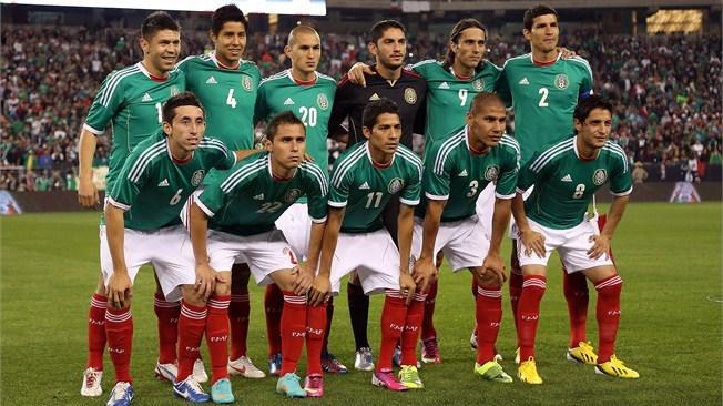 Seleção do México Crédito: Divulgação/www.pt.fifa.com/worldcup/