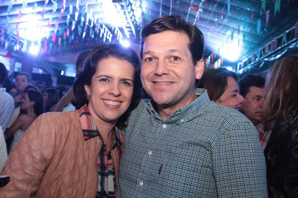 Cristina Mello e Geraldo Julio - Crédito: Nando Chiappetta/ DP DA Press