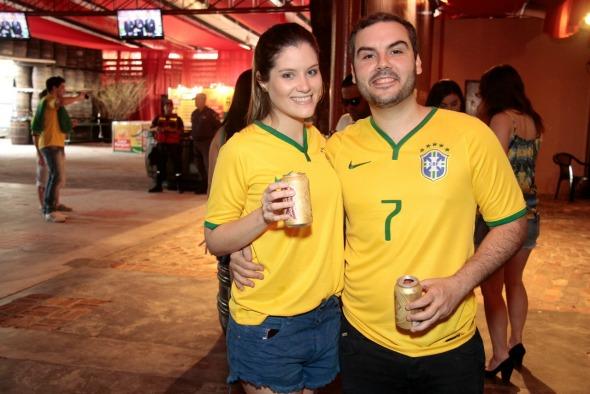 Camila Moraes e Pedro Sette - Crédito: Gleyson Ramos/Divulgação