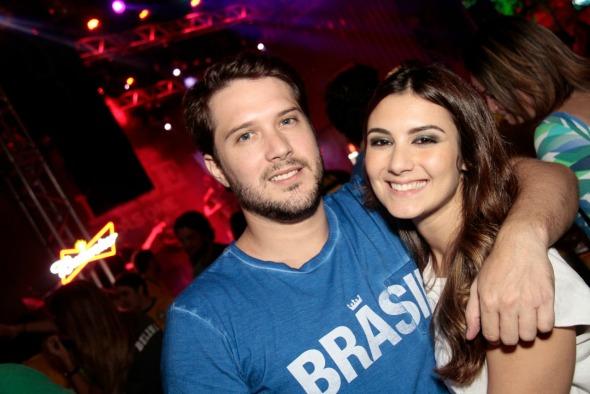 Eduardo Queiroz e Beatriz - Crédito: Gleyson Ramos/Divulgação