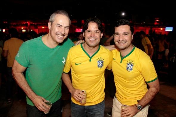 João Marinho, Fred Gonçalves e Geraldo Bandeira - Crédito: Gleyson Ramos/Divulgação