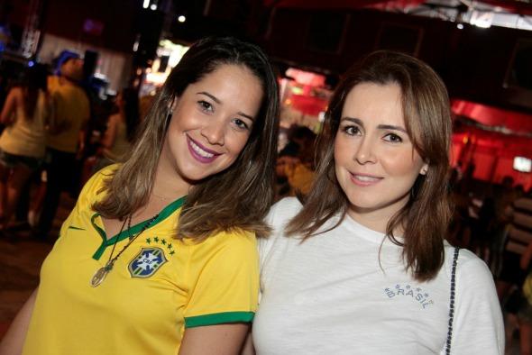 Renata Barroca e Juliana Patriota - Crédito: Gleyson Ramos/Divulgação