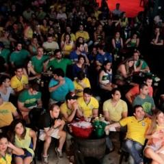 Locais para assistir ao jogo Brasil X Chile