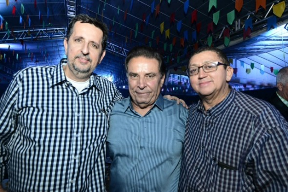 Marcelo Canuto, João Lyra Neto e Severino Pessoa. Crédito: Paulo Sérgio Sales / Divulgação