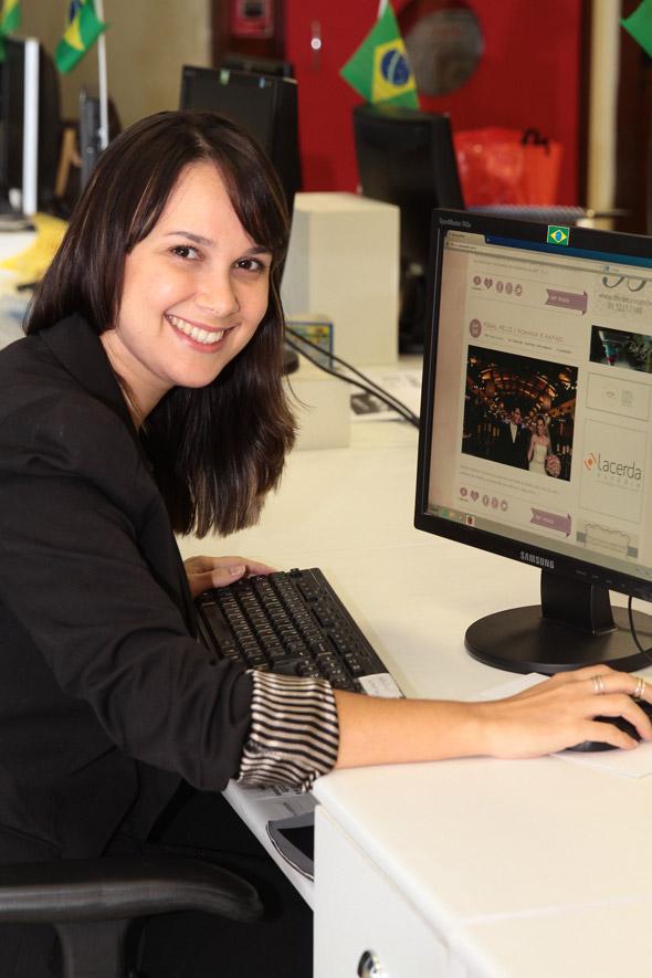 """Nina Lacerda trouxe seu blog """"Até que enfim"""" para o Pernambuco.com. Crédito : Nando Chiappetta/DP/D.A Press"""