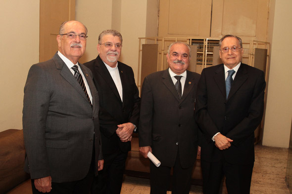 Carlos Gueiros, Alexandre Ximenes, Ricardo Costa e Roberto Magalhães - Crédito: Nando Chiappetta/DP/D.A Press