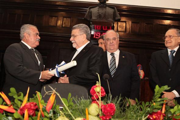 Ricardo Costa, Alexandre Ximenes, José Maurício Cavalcanti e Roberto Magalhães - Crédito: Nando Chiappetta/DP/D.A Press