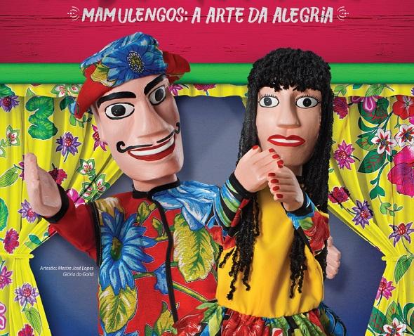 Mamulengos são o tema - Crédito: Fenearte/Divulgação