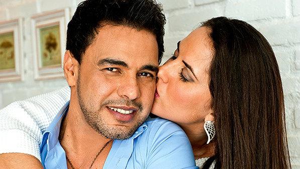 Zezé di Camargo e a namorada, Graciele - Crédito: Rogério Palatta/Contigo!