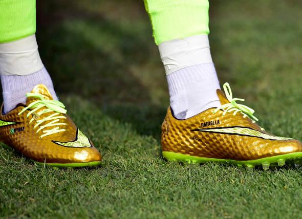 Chuteira que a Nike fez eclusivamente para Neymar - Crédito: FIFA/Divulgação