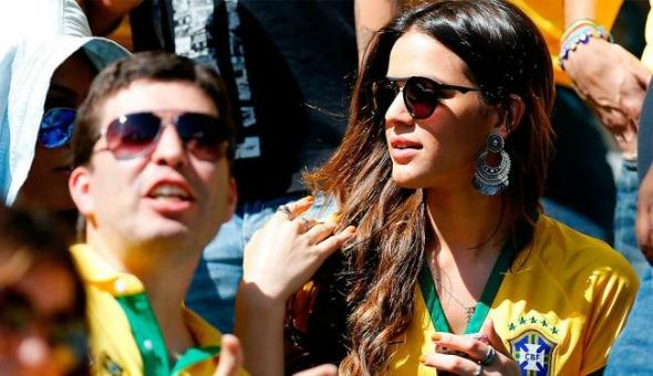 Bruna Marquezine no estádio do Mineirão - Crédito: Jefferson Bernardes | VIPCOMM
