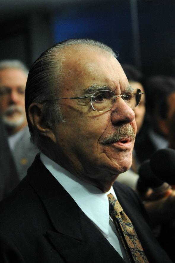 José Sarney - Crédito: Wilson Dias/ABr