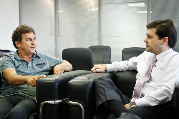 Marcos Frota e Geraldo Julio - Crédito: Andrea Rego Barros/PCR