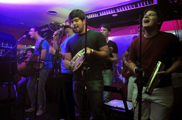 Banda Sarrasamba - Crédito: Gabriela Pontual/Divulgação
