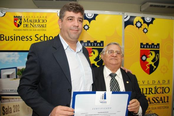Marinaldo Rosendo (à esquerda) - Crédito: Cecilia de Sá Pereira/ Esp. DP/ D.A Press.