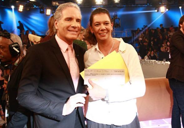 Roberto Justus e Ana  Moser - Crédito: R7/Divulgação