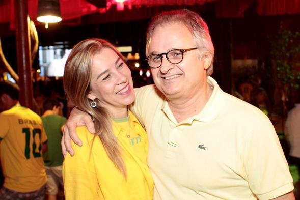 Germana e Eduardo Carvalheira - Crédito: Gleyson Ramos/Divulgação