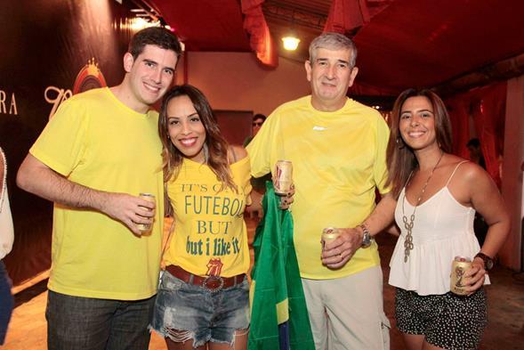 Lucas Ardanza Filho, Paula Ardanza, Luca - Crédito: Gleyson Ramos/Divulgação