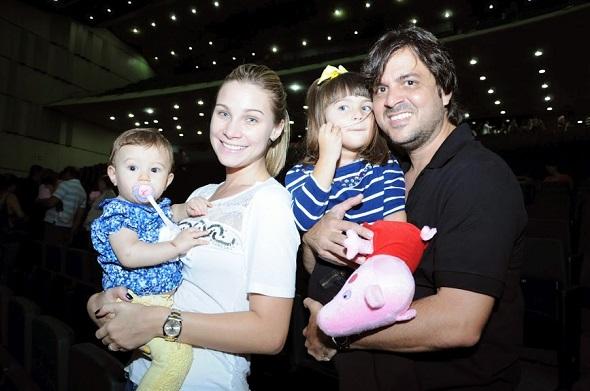 Luiza, Manuca Furtado, Duda e Bruno Rego - Crédito: Gabriel Pontual/Divulgação
