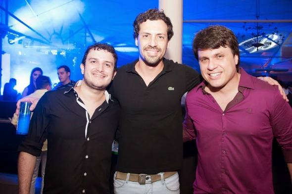 Tiago Pareja, Rafael e Thiago Figlioulo - Crédito: Gabriel Pontual/Moove Comunicação