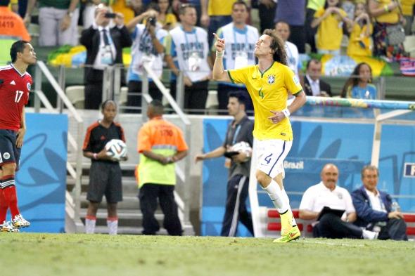 David Luiz - Crédito: Ricardo Fernandes/DP/D.A Press