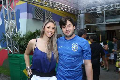 Rodrigo Carvalheira e Duda Lobo