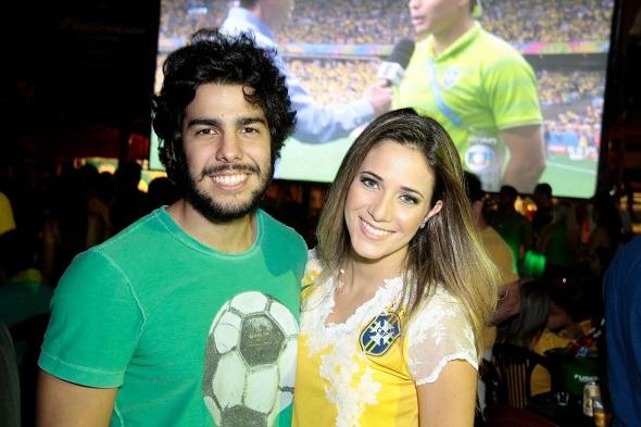 José Pinteiro e Isabelle Leite - Crédito: Gleyson Ramos/Divulgação