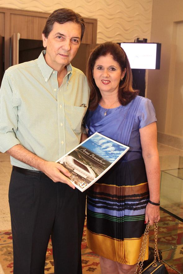 Luis Guilherme Pontes e Maria do Carmo - Crédito:  Nando Chiappetta/DP/D.A Press