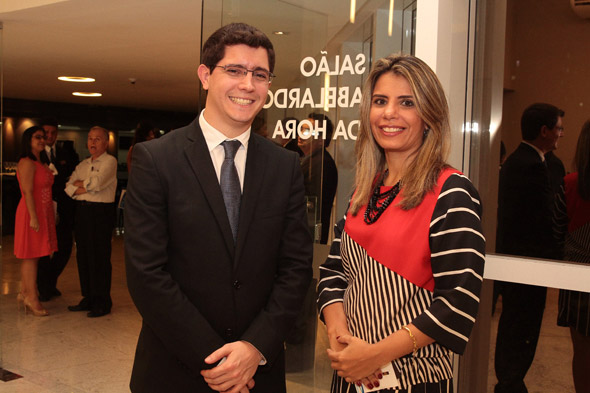 Guilherme Júnior e Andréa Ribeiro - Crédito:  Nando Chiappetta/DP/D.A Press