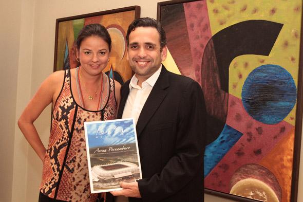 Adriana Assumpção e Baroni Neto - Crédito:  Nando Chiappetta/DP/D.A Press