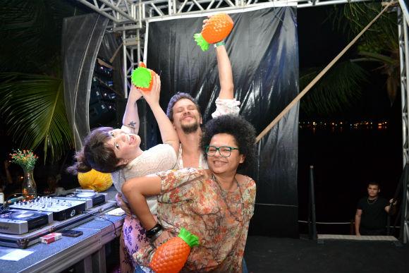 Allana Marques, Aslan Cabral e Lala K - Foto: Cortesia