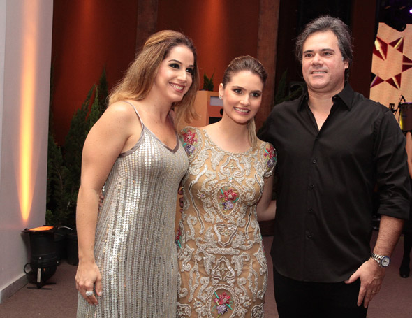 Vanessa Vecchione, Camila Paes Mendonça e Sílvio Pontual - Crédito: Nando Chiappetta/DP/D.A Press