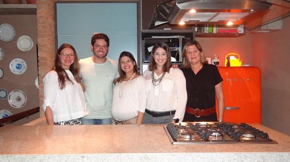 Daniella Cantarelli, André Falcão, Priscila Borba, Cecília Bruscky e Crédito: