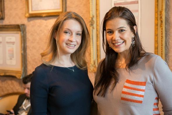 Fernanda Floret e Patricia Fortes - Crédito: Divulgação/Acervo Noivas do Brasil